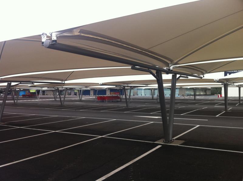 cubiertas para aparcamiento de coches