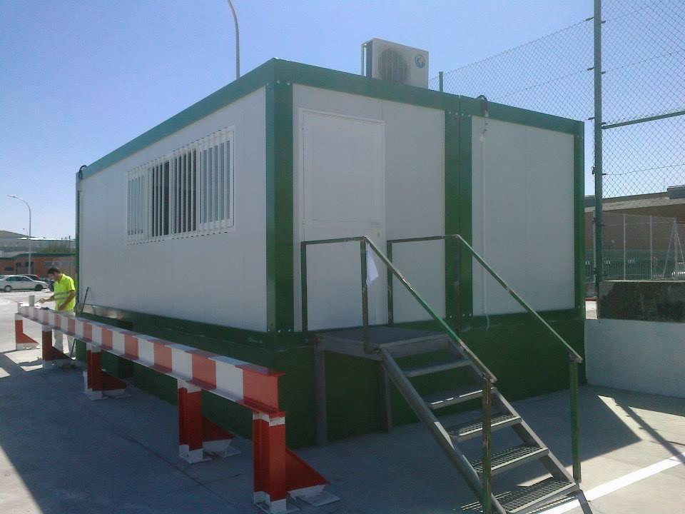 Construcciones modulares en alquiler for Oficinas centrales el corte ingles