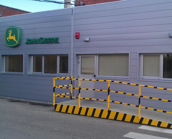 ALQUIMODUL- Edificio modular utilizado como oficinas