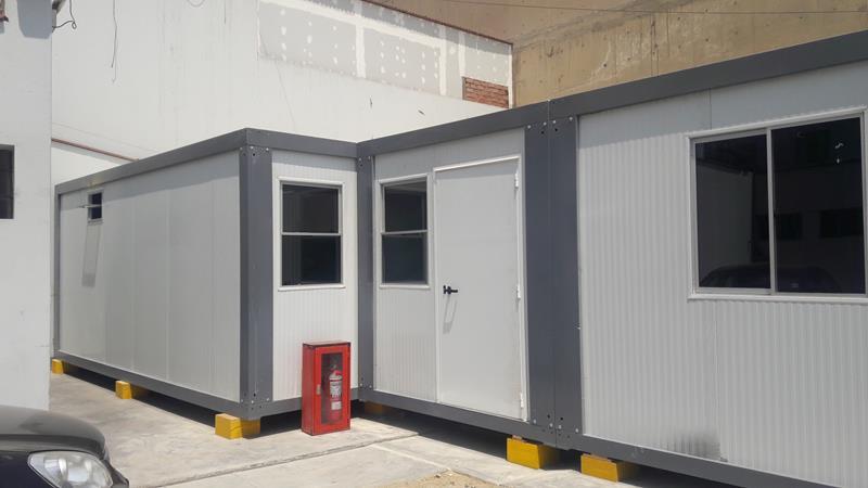 Alquimodul alquiler de oficinas modulares prefabricadas for Oficinas modulares