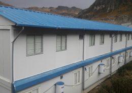 Campamento modular mineria