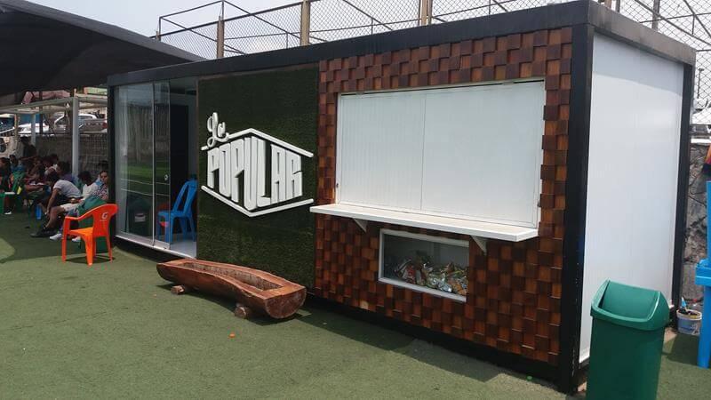 Alquimodul Modulos Prefabricados Tipo Kiosco Estadio