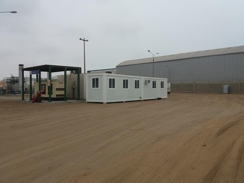 Alquimodul modulos prefabricados empresas industriales for Modulos oficinas prefabricados