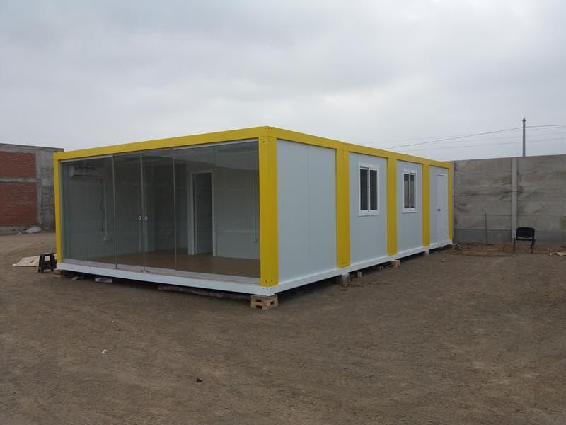 Alquimodul oficinas modulares enerjet en chilca lima peru for Oficinas modulares
