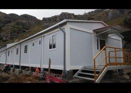 Campamento modular dormitorios