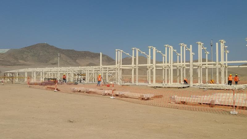 Campamentos mineros modulares