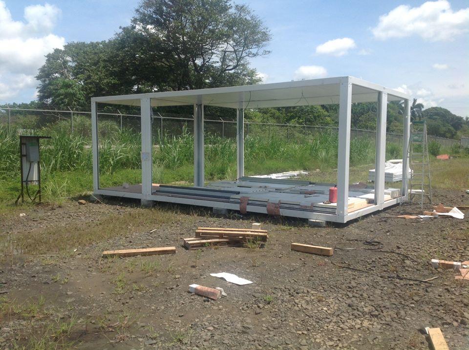 Construcci n de campamentos modulares para trabajadores - Modulos metalicos prefabricados ...