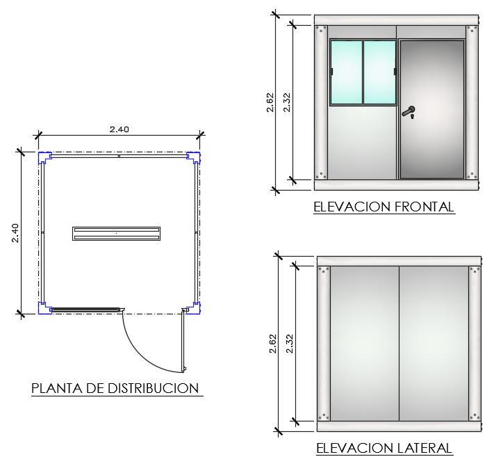 Módulos Prefabricados Alquimodul Alquimodul Sac