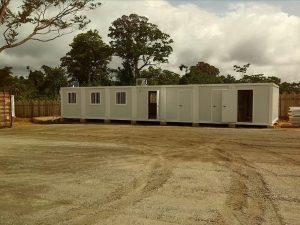 campamento modular