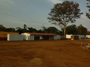 campamento para trabajadores