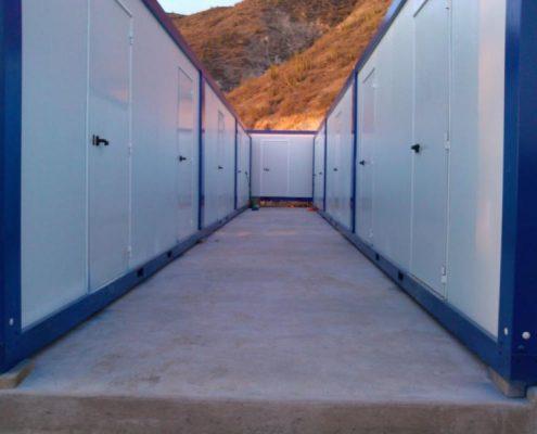 Campamentos modulares para mineria