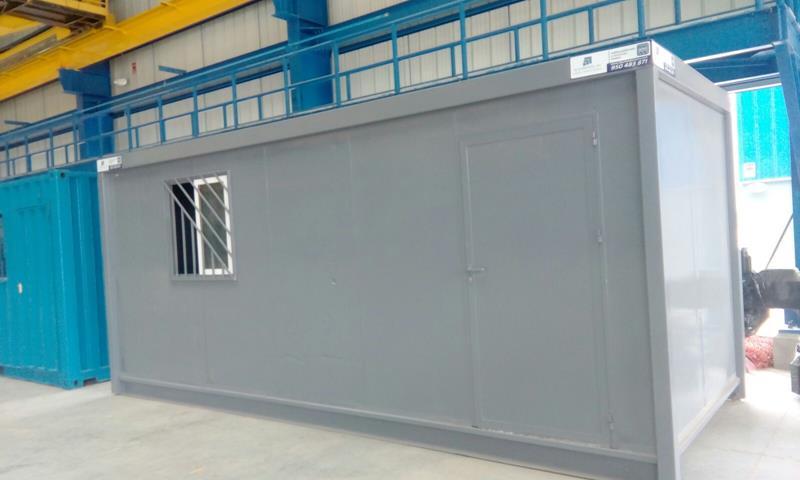 Alquimodul alquiler de oficinas modulares temporales for Construccion de oficinas modulares