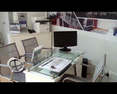 Modulos prefabricados sala de ventas