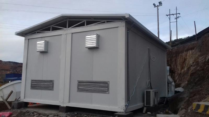 salas electricas modulares