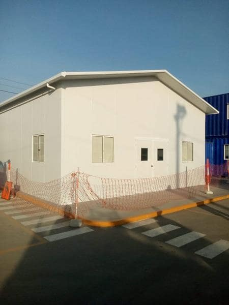Aula modular prefabricada