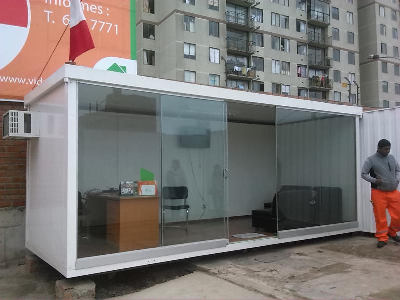Alquimodul salas de venta realizadas con modulos - Locales prefabricados ...