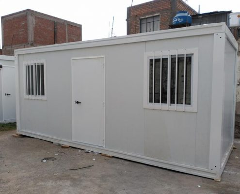 Laboratorios prefabricados modulares