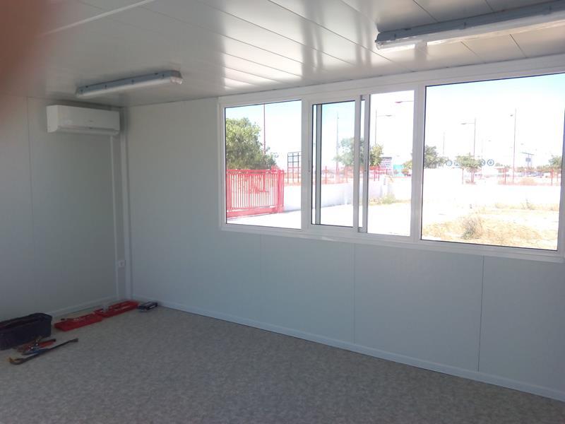 Alquimodul oficinas modulares prefabricadas for Oficinas modulares