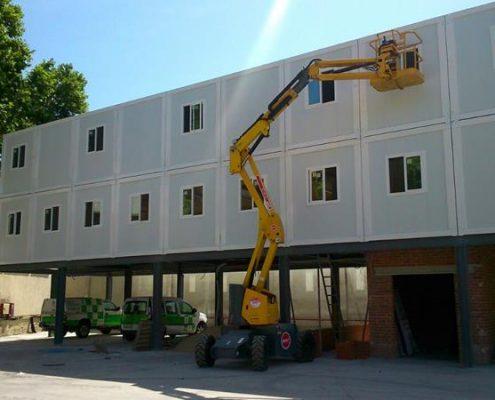 Edificio modular oficinas ALQUIMODUL