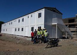 Campamentos modulares