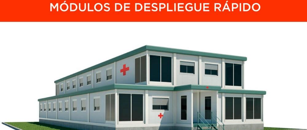 Hospitales modulares y centros médicos